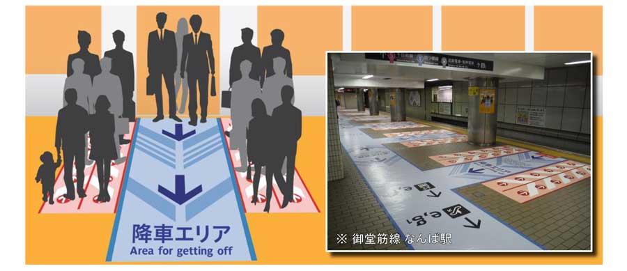 大阪市営地下鉄床面シートについて